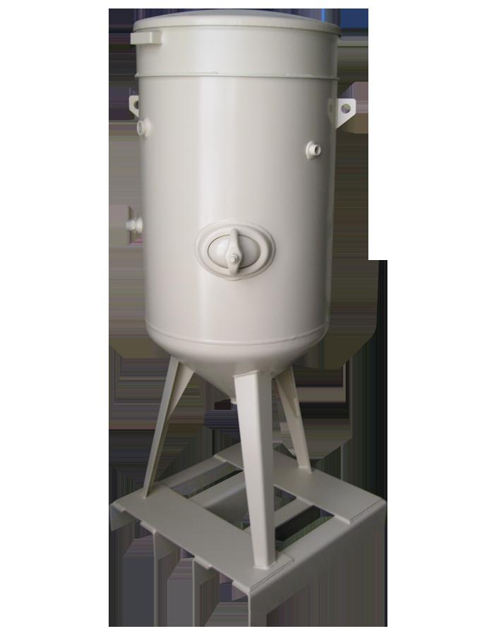 Sableuse industrielle 200 litres avec dosage à membrane